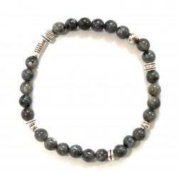 Bracelet en dorure turquoise et cristaux